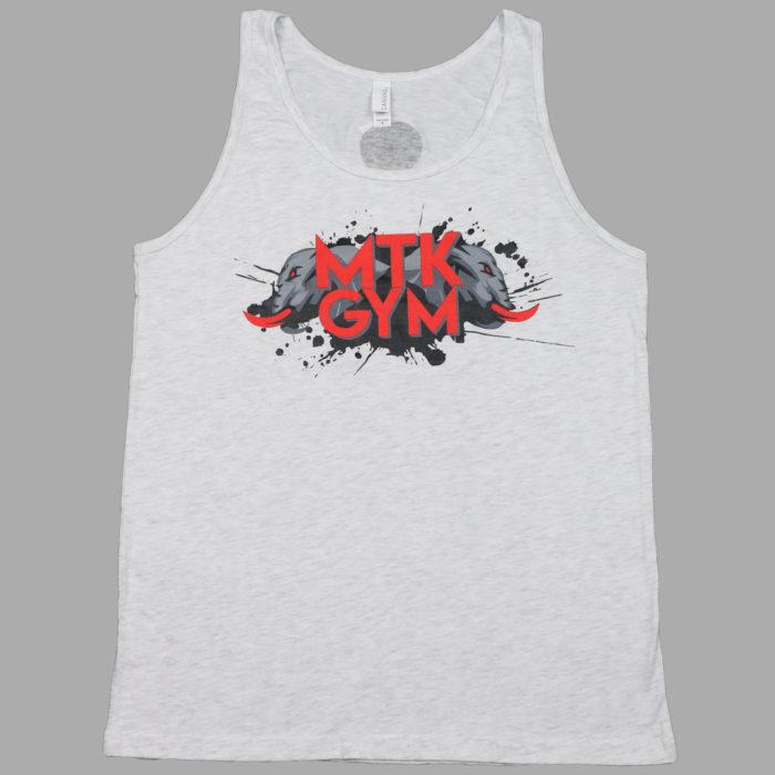 Men's Tank-White